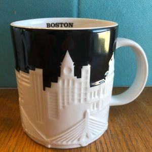 Starbucks Boston 2012 skyline mug